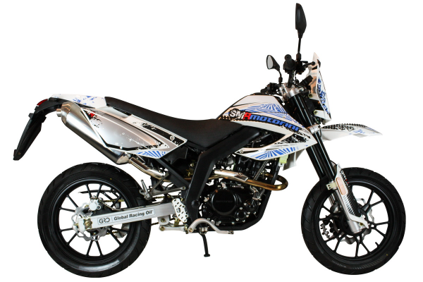 Motorini SMR 125i - white blue main image