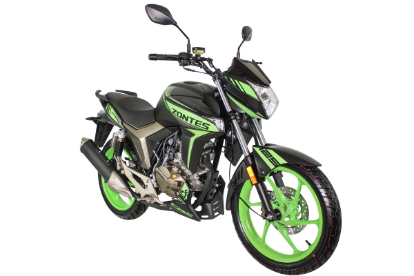 Zontes Scorpion Front Right Vew Green