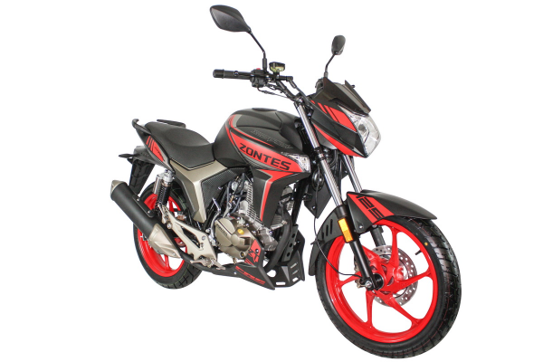 Zontes Scorpion Front Right Vew Red