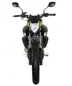 Zontes Scorpion Front Vew Green