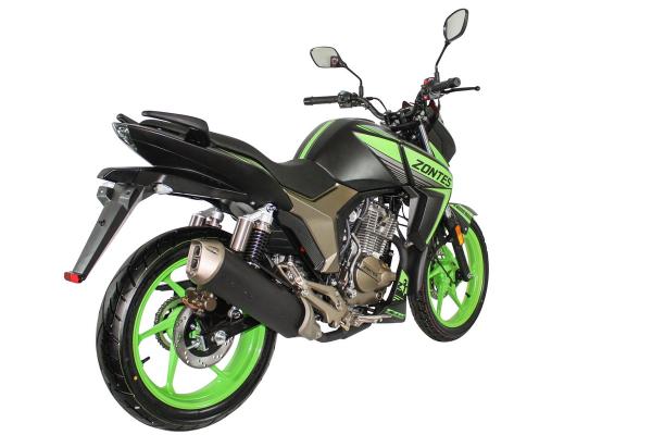 Zontes Scorpion Rear Right Vew Green