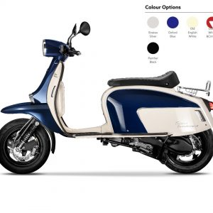 Scomadi TT125 - White Blue