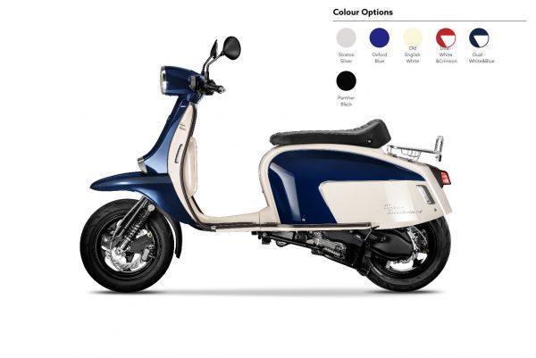 Scomadi TT125 - White Blue
