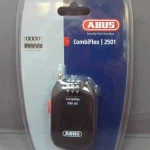 Abus Combiflex 2501/65 Coil Lock Black 65cm/2.5mm