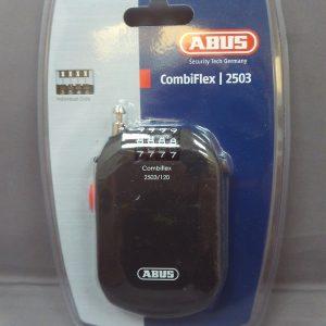 Abus Combiflex 2503/120 Coil Lock Black 120cm/2.5mm