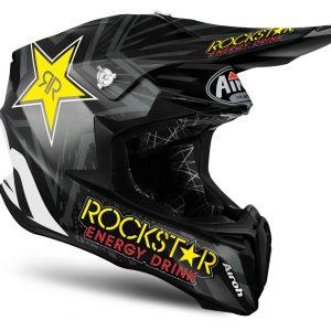 Airoh Twist Peak Rockstar Black Matt