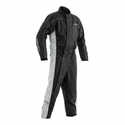 RST Hi-Vis Waterproof Suit Black/ Grey