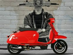 Royal Alloy GP 125 LC - Red Side Right