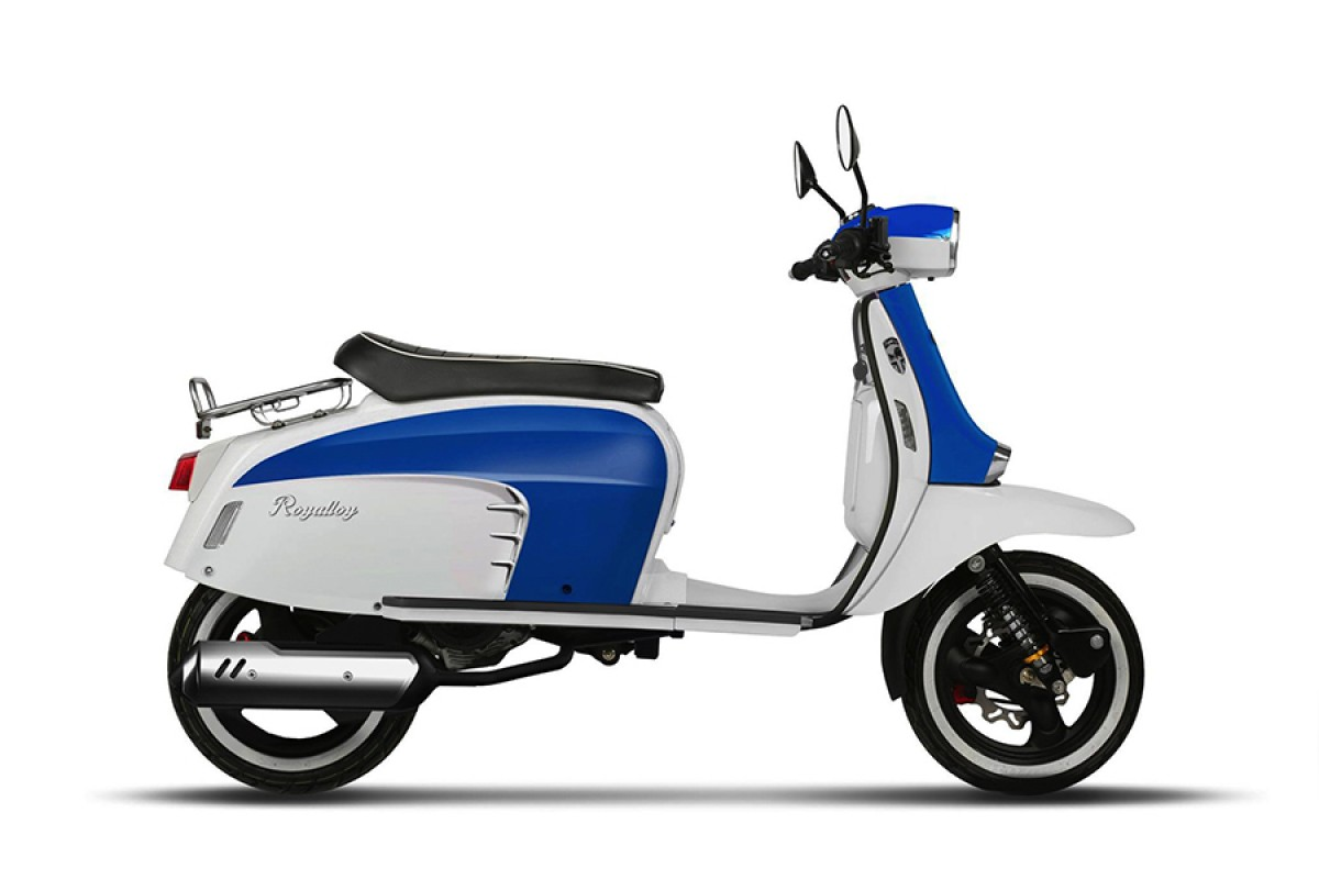 Royal Alloy Gt 125 125cc Finance Lowest Rate Around Uk Delivery
