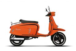 Royal Alloy GT 125 - Orange