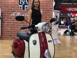 Royal Alloy TG 125 S LC ABS Burgundy - Red - Ivory 6