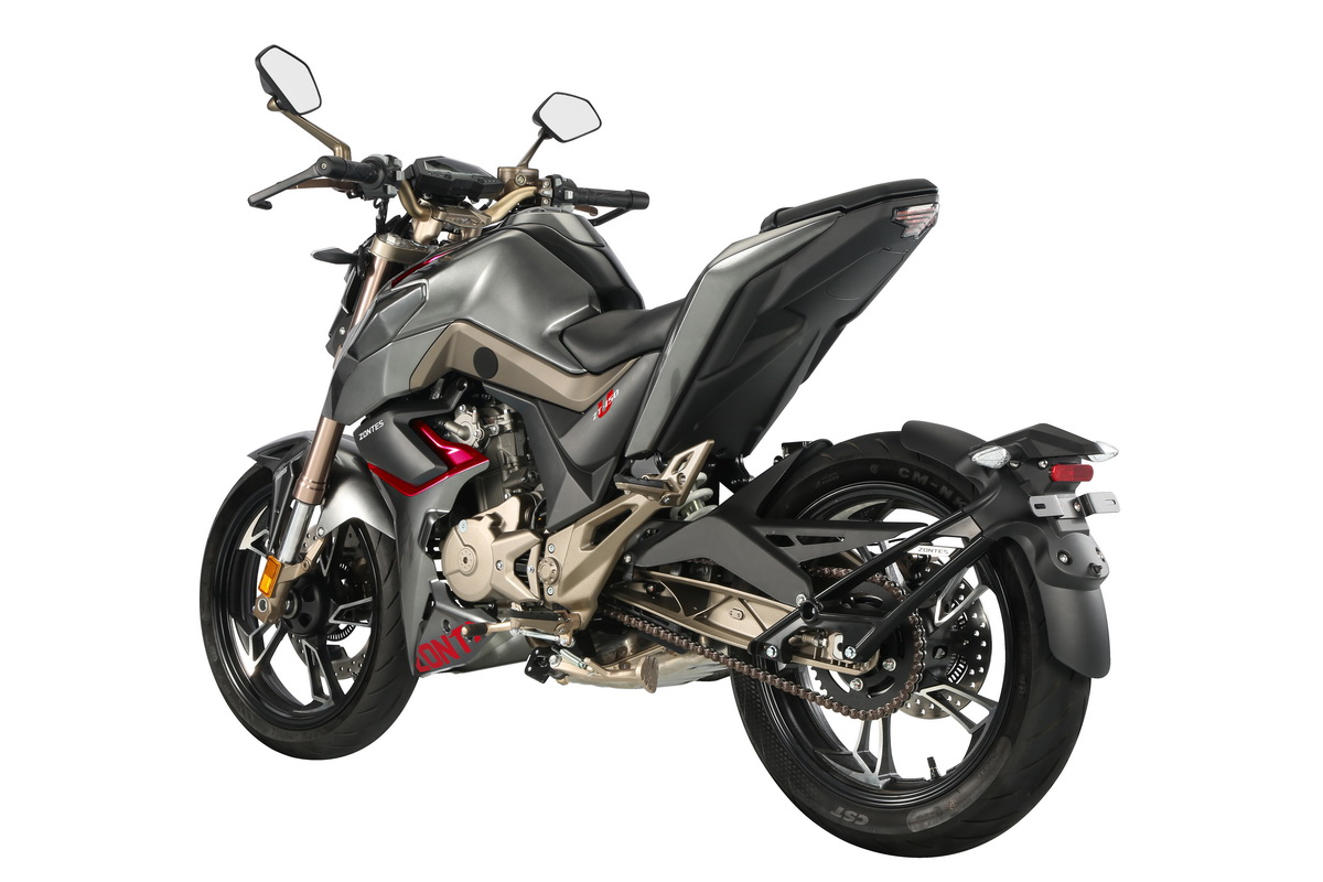 Classy new 125s for under £3000: Liquid-cooled Zontes range has spec to rival the best | MCN
